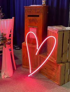 Neon Wedding Signs